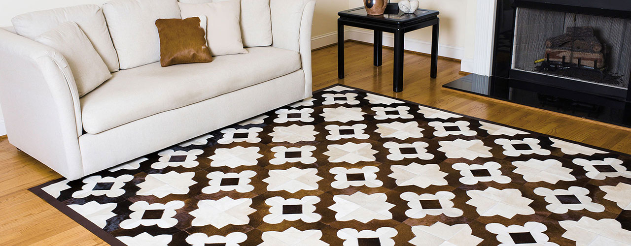 Premium Leather Rugs Custom Made In The Usa With Imported Hides